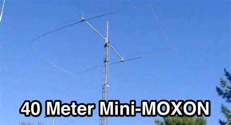 40 in meters 40 meter moxon