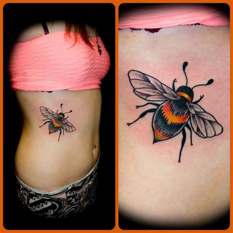 traditional bee tattoo 30 traditional bee tattoos