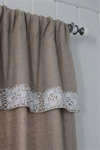 curtain edging crochet edging hessian curtain crochet pinterest