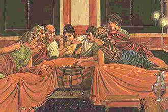 romani a tavola a tavola con i romani tesori di etruria