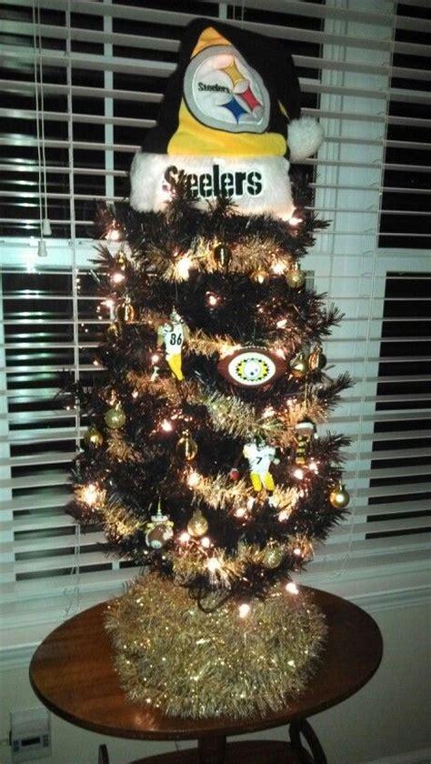 steelers christmas tree cool stuff pinterest