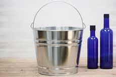 10 Quart Galvanized - galvanized buckets galvanized pails outlet