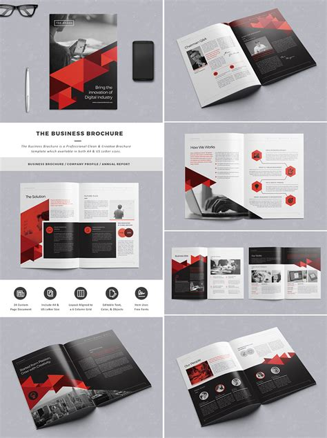 Electronic Brochure Templates Brickhost 8fc29585bc37 Electronic Brochure Templates
