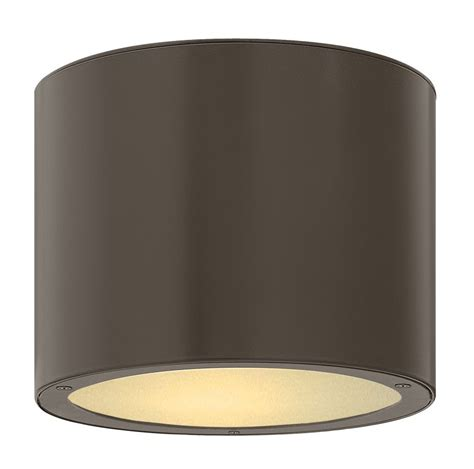 hinkley lighting 1663bz led bronze 1 light led sky
