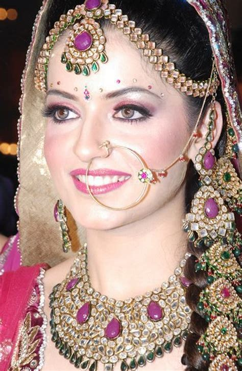 fashion of style indian bridal nose ring nath