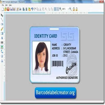Id Card Template Inkscape by Id Card Label Creator Www Opendesktop Org