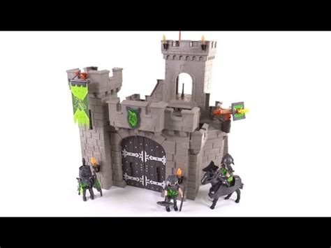 Playmobil Hawk Knights Castle Set playmobil wolf knights castle review set 6002
