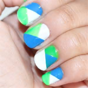 nails that change color color blocking nail fashion tips for you