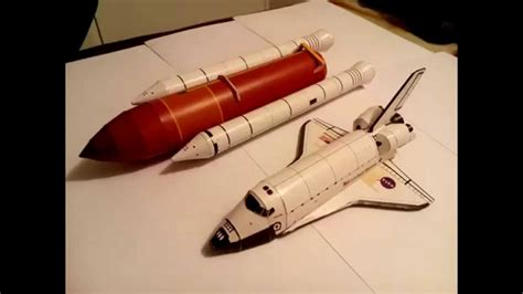 Papercraft Space Shuttle - atlantis space shuttle papercraft paso a paso