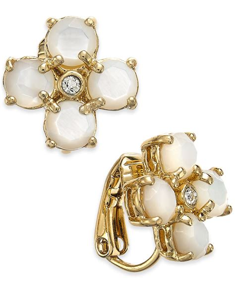 kate spade new york 14k gold plated of pearl and