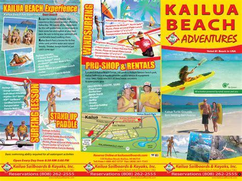 hawaii brochure template 12 215 9 brochure printing kailua kayaks 2 print hawaii