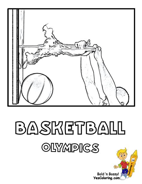 basketball coloring pages yescoloring big bounce basketball printables nba basketball west