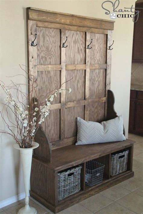 free hall tree bench plans 25 best ideas about hall tree bench on pinterest
