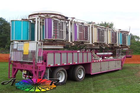 Racked Nyc Sle Sale by Zipper Folds On To A Single Trailer Amusement Ride