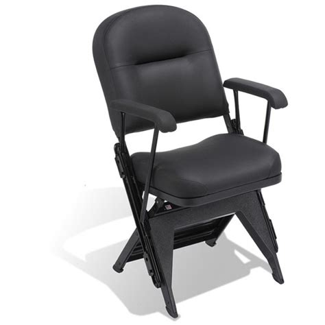 comfortable portable chairs vip nba sideline seating premium folding chair