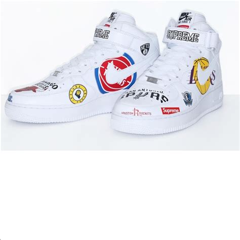 supreme shoes supreme shoes nike x nba collab air 1 poshmark