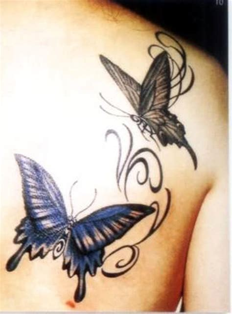 butterfly shoulder tattoos butterfly tattoos and designs page 366