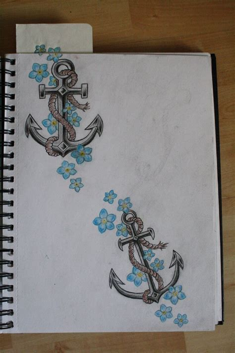 anchored art tattoo anchor by henwiikka deviantart on deviantart