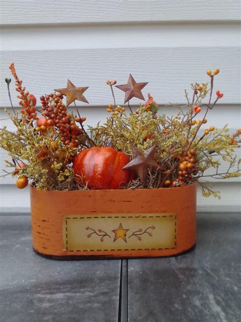 primitive fall decorations fall arrangement primitive autumn decor fall decor