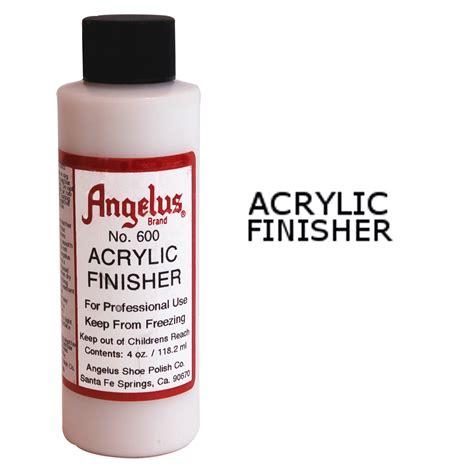 angelus paint ireland angelus gloss acrylic finisher leather dye fabric