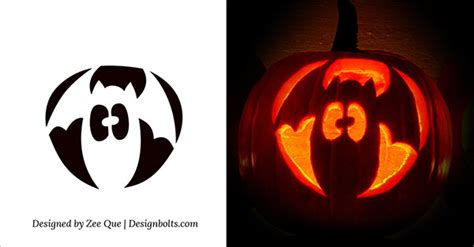 pumpkin stencils easy cool easy pumpkin carving