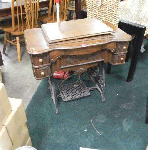 sewing machine vintage new home treadle sewing machine