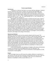 spectrophotometer lab report sle biochem lab lab report 2 biochem lab spectrophotometry