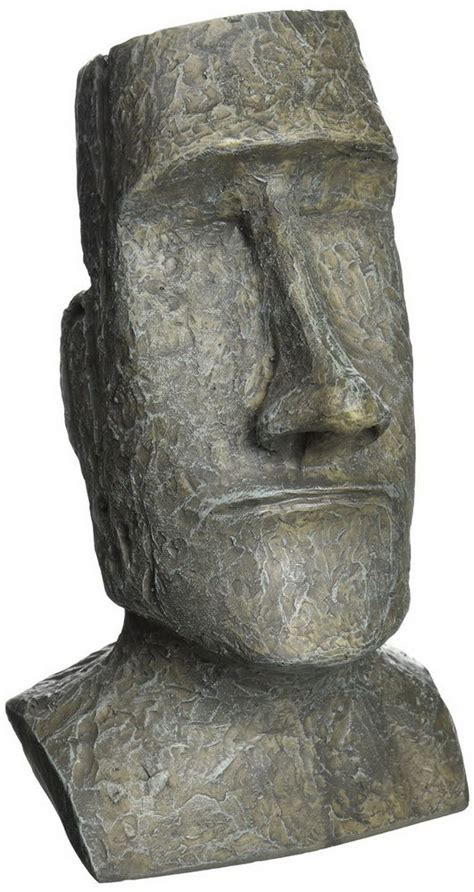 statues for home decor stone easter island moai statue resin figure home garden