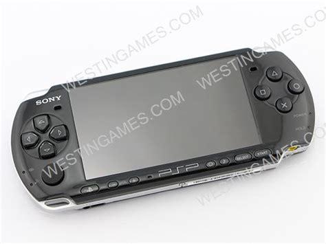 Psp Slim 3000 sony psp 3000 slim system consoles packing black refurbished psp console westingames