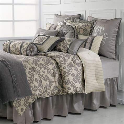 luxury bedding kerrington 4 piece comforter set hiend accents luxury