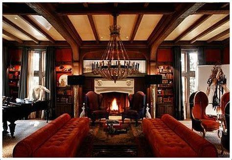 tudor interior design tudor interiors upholstery garnet ruby reds dark