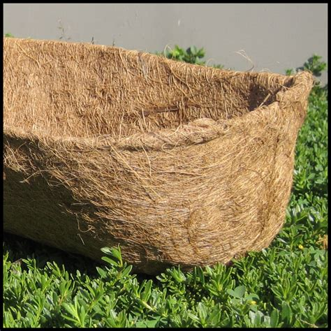 Coconut Planter Liners by Coco Liners For Window Boxes Coco Liners For Planters