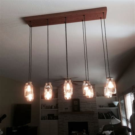 Diy Rustic Chandelier 10 Light Diy Jar Chandelier Rustic Cedar Rustic Wood