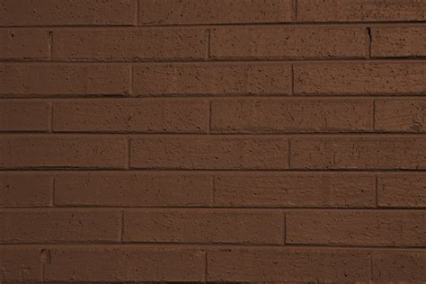 painted wall brown painted brick wall texture picture free photograph