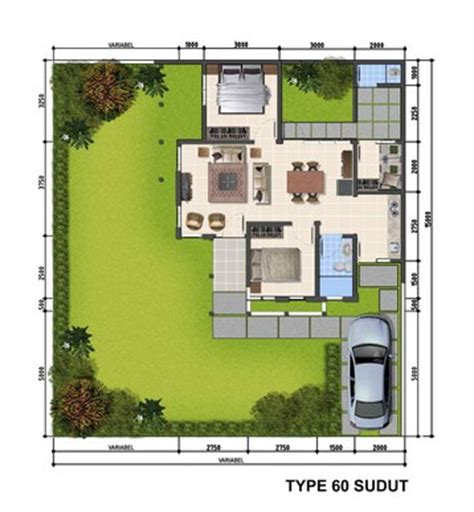 layout rumah type 60 50 sketsa denah rumah minimalis type 60 rumah impian