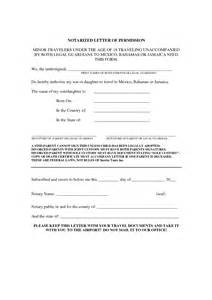 Consent Letter Notarized Best Photos Of Notarized Authorization Letter Format