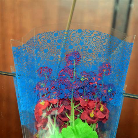 Plastik Opp Fancy 2016 dongguan fancy opp plastic shaped cone bag flower