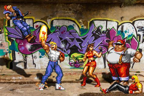 Rage Vs Fight Real Bits Streets Of Rage Brawl By Victorsauron On Deviantart