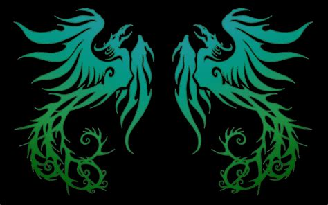 wallpaper blue phoenix the gallery for gt fire and ice phoenix wallpaper