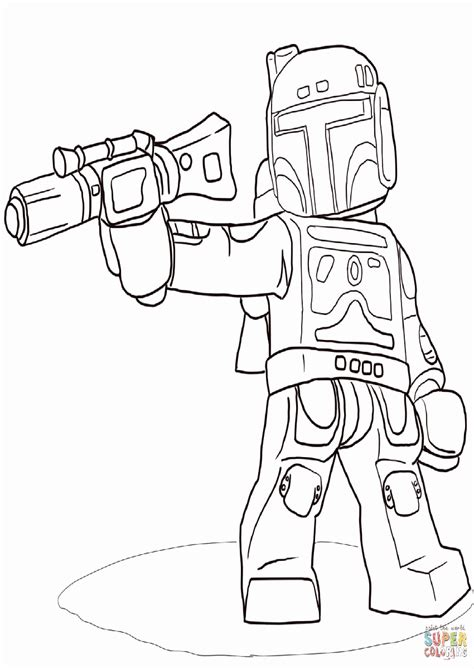 lego wars boba fett coloring pages wars coloring pages boba fett lego www imgkid