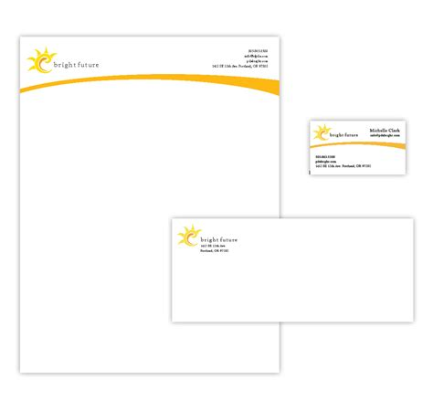 business letterhead layout clark graphic design design expression