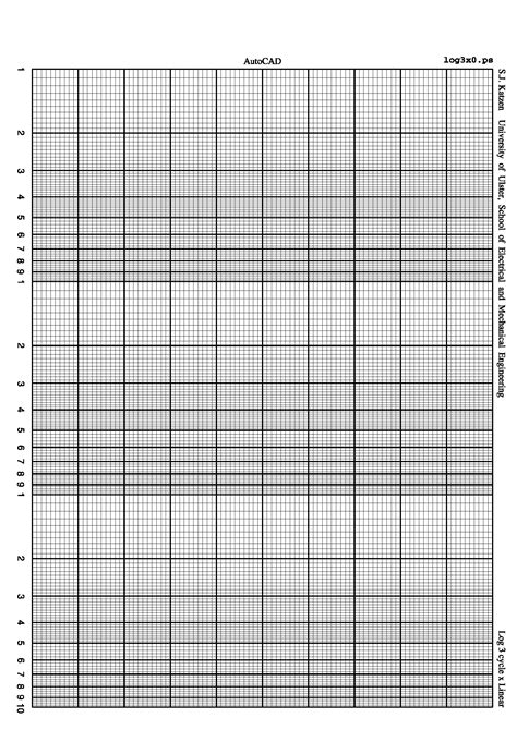 Paper Log - log linear graph paper provubload