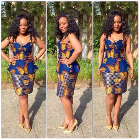 latest fashion skirt and blouse ankara styles ankara short skirt and blouse style dezango fashion zone