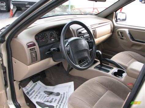 camel interior 2000 jeep grand laredo photo