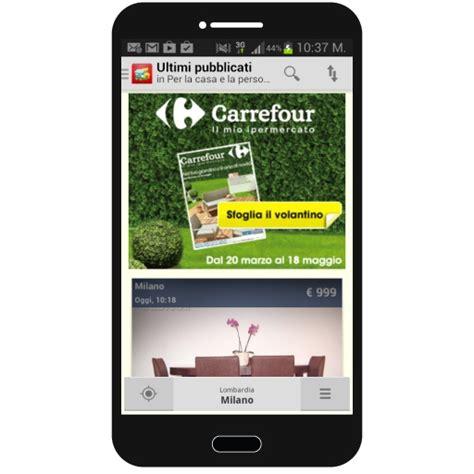 subito mobile android i volantini carrefour su mobile con subito it gdoweek