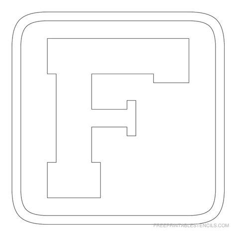 printable block letters template printable block letter stencils free printable stencils
