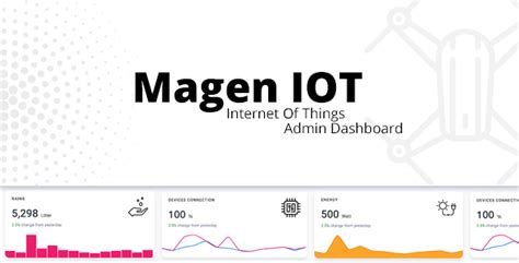 Magen Iot Admin Dashboard Free Download Download Nulled Rip Iot Dashboard Template