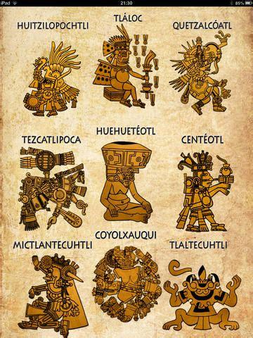 imagenes de los aztecas de los dioses itunes books dioses mexica mexican gods by elsa