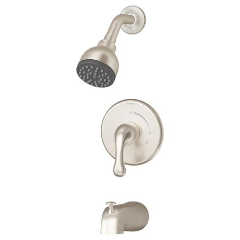Symmons Tub And Shower Valve by Symmons Unity Single Handle 1 Spray Tub And Shower Faucet