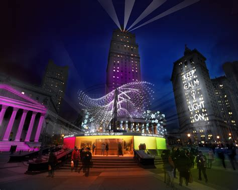 York Lighting by New York Festival Of Light Is Illuminating Dumbo Starting